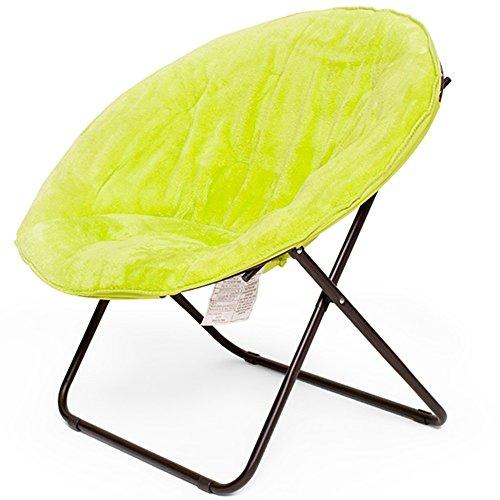 LQQGXLTable pliante portative Balcon pliant chaise longue, canapé paresseux, chaise pliante en tissu, chaise papillon (Couleur : D)