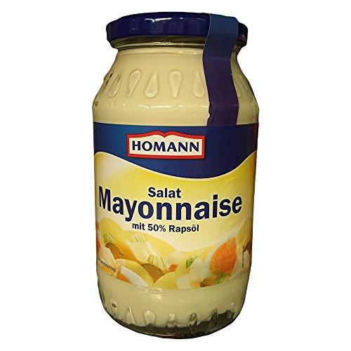 Homann Salat Mayonnaise (500ml Glas)