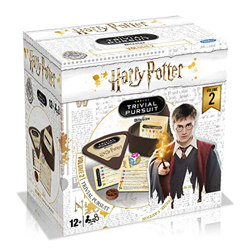 Winning Moves - WM00124-EN1-6 - Harry Potter Trivial Potter Vol 2 2019 - Blanco - 1 tamaño