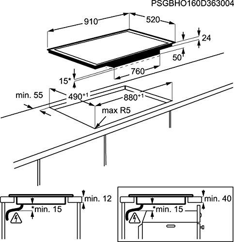 AEG HK956970FB Kochfeld / Glaskeramik, elektrisch - 4