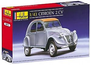 Glow2B Heller - 80175 - Maqueta para Construir - Citroen 2 CV - 1/43