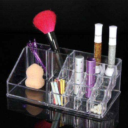 LuckyFine Organisateur Rangement BoIte Rouge A Levres Brosse Mascara Maquillage Presentoir #3