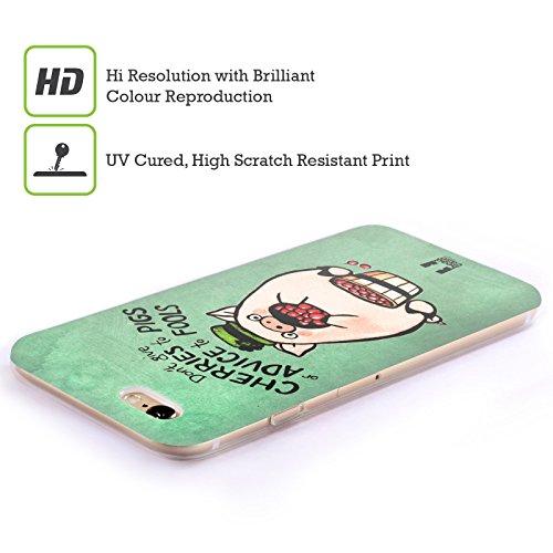 Head Case Designs Birra Irish Craic Cover Morbida In Gel Per Apple iPhone 7 Plus / 8 Plus Maiale