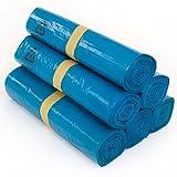 40 Stück Abfallsäcke Blau 240 Liter - 10 Stück auf Rolle - MÜLLSÄCKE aus LPDE-REGENERAT