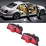 Grolish 2 pezzi Door Proiettore di luce led logo Ombra Luce di benvenuto LED Del Portello di Automobile di Illuminazione