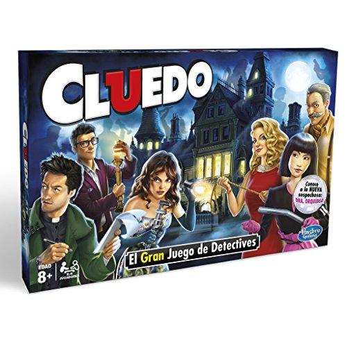 Hasbro Jeu Gaming–en famille Cluedo (Hasbro 38712) Version en espagnol Miscelanea multicolore