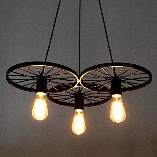 BAYCHEER Retro Industry lámpara colgante diseño de estilo Loft, comedor vintage retro...