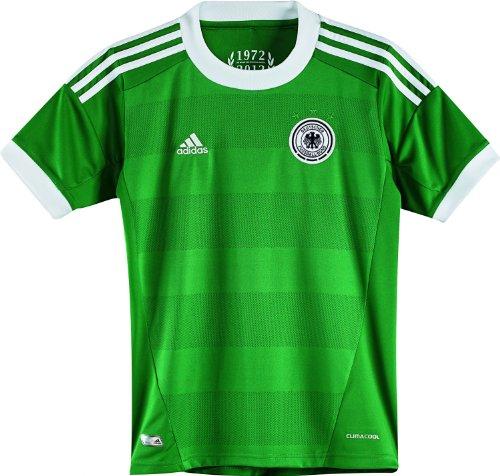 adidas Kinder Trikot Away EM 2012, grün/weiß, 152, X21824