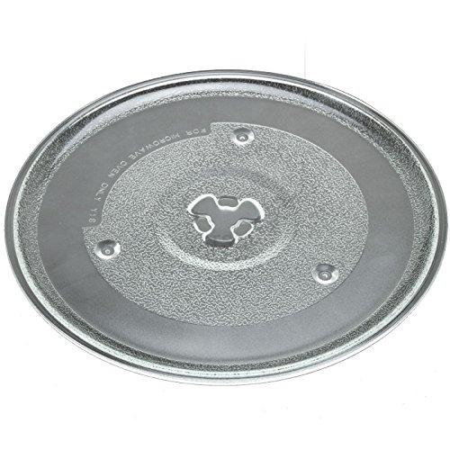 Mikrowellenteller 27 cm Drehteller Glasteller Mikrowelle Teller Universalteller