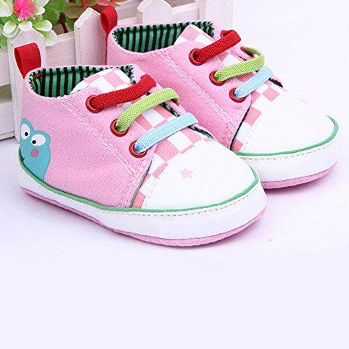 b60ab75cc Xiangze bebe nino nina suave cordon suela lona zapatos 0-12Meses - V ...
