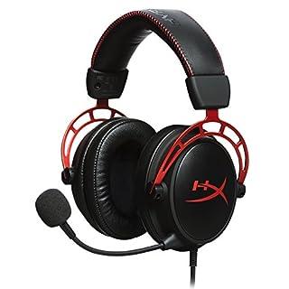 HyperX HX-HSCA-RD/EM Cloud Alpha Pro Gaming Headset, Red