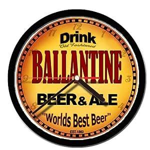 BALLANTINE bière and ale Horloge murale