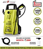 AllExtreme EXW3112 Electric Power Car Washer Heavy Duty Pressure Sprayer Cleaner with Quick-Connect