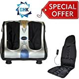GHK HC6 Leg And Foot Massager with Foot Rollers & Car Back Seat Massager Special Offer