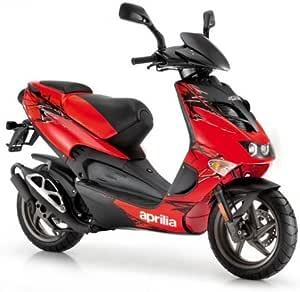 Aprilia Sr 50 Street Farben Rot Fluo Auto