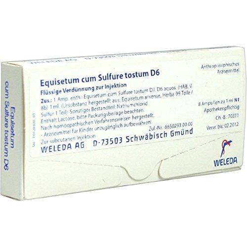 Equisetum Cum Sulf. Tost. 8X1 ml