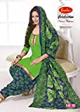 Taos womens printed cotton salwar suit d...