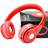 Esportic S450 Foldable On-ear Wireless Stereo Bluetooth Headphones Supports MP3, FM & TF Card Reader Compatible With Xiaomi Mi, Apple, Samsung, Sony, Lenovo, Oppo, Vivo Smartphones (1 Year Warranty, Colour May Vary)