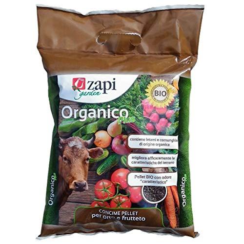 concime biologico per orto e frutteto con cornunghia e letame conf. da 4 kg