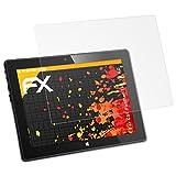atFolix Schutzfolie für CSL Panther Tab 10 HD Displayschutzfolie - 2 x FX-Antireflex blendfreie Folie