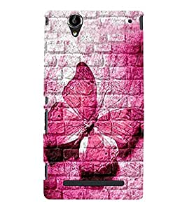 BUTTERFLY PATTERN Designer Back Case Cover for Sony Xperia T2 Ultra::Sony Xperia T2 Ultra Dual