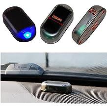 Auto LED–azul Solar Alarma Falsa Dummy Imitation antirrobo