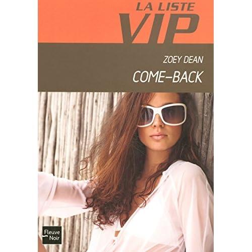 LISTE VIP N09 COME-BACK