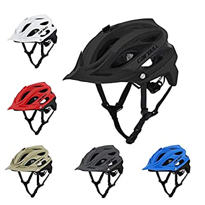 Nicololfle Men's Women's Mountain Bike Helmets For Cairbull AllSet Mountain Bike Safety Comfort Lightweight Cycle Bicycle Helmets,Can Be Equipped With Sports Camera by Nicololfle