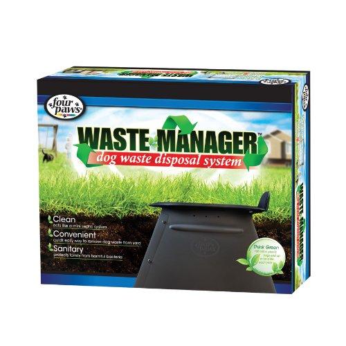 Vier Pfoten Abfall Manager Hund Entsorgung System (Abfall-entsorgung Haustier Hund)