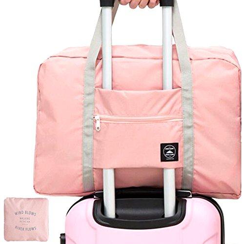 Borsone da viaggio pieghevole 32L archiviazione portatile bagagli corsa della spalla dell'organizzatore di immagazzinaggio per viaggio campeggio palestra Shopping Sports