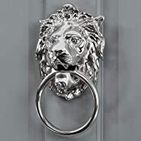 The Royal Melia - Polished Bright Chrome Lion