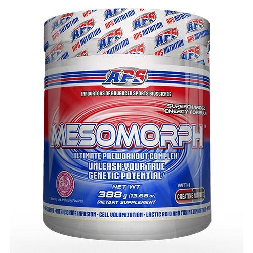 Mesomurph V3 Tropical Punch 388g pre workout booster pulver