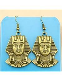ba84fb2736c6 WYSIWYG 3 Piezas Pendientes De Gota Aretes De Moda para Mujer La Reina  Cleopatra De Egipto
