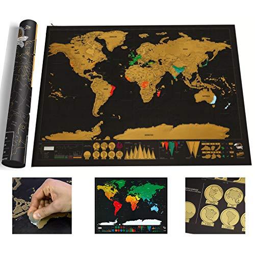 Mapa de Scratch del mundo pequeño