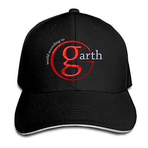 Hittings Garth Brooks Legend Returns World Tour 2016 Snapback Hats Sandwich Baseball Cap Black - Brooks Kappe