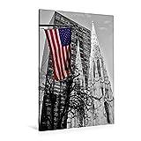 CALVENDO Lienzo Premium de 80 cm x 120 cm de Alto, diseño de St. Patrick's Cathedral de Nueva York, Imagen sobre Bastidor, Imagen Lista en Lienzo auténtico, impresión en Lienzo Orte Lugares