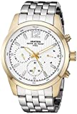 Armitron Men's 20/4991GPSV Multi-Function Dial Silver-Tone Bracelet Watch