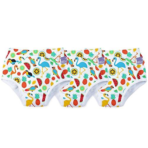 Preisvergleich Produktbild Bambino Mio, Potty Training Pants, Tropical Island, 2-3 Years, 3 Pack