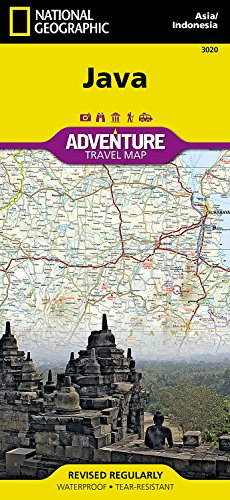 National Geographic: Java, Indonesia (Adventure map)