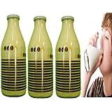 Milchflaschen 3 Stück Set 1 Liter