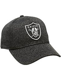 Casquette Jersey Tech Aframe Oakland Raiders anthracite chiné NEW ERA