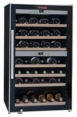 La Sommelière ECS70.2Z Weinkühlschrank / 102,0 cm Höhe/Zweizonen Weintemperierschrank mit...