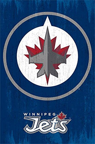 Winnipeg Jets Logo 2013 NHL Kunstdruck Winnipeg Jets-logos