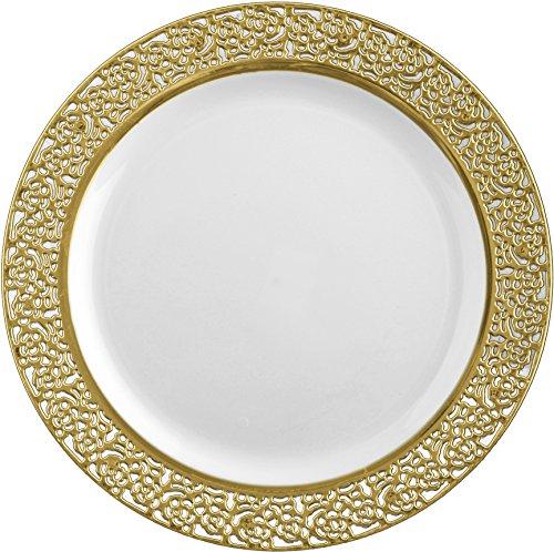 decor-elegant-disposable-plastic-premium-dinner-plates-inspiration-gold-white-1025-26cm-plates