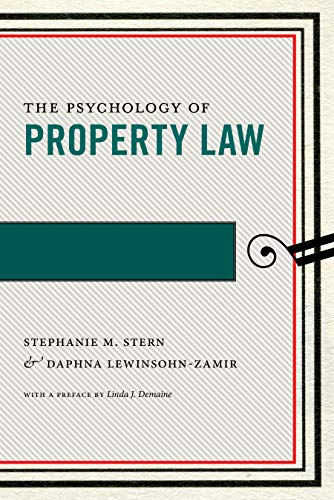 The Psychology of Property Law (Psychology and the Law Book 3) (English Edition)
