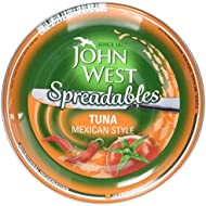 John West Spreadable Tuna in Mexican Style, 80g
