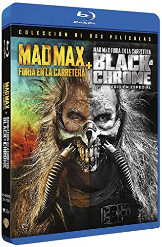 Mad Max. Furia En La Carretera - Edición Especial Black Chrome - Mad Max: Fury Road Black & Chrome Edition [ Non-usa Format: Pal -Import- Spain ]