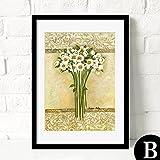 HY&GG Moderne, Einfache Dekorative Malerei Von Wohnzimmer Restaurant Wandmalereien Von Wunderschönen Bunten Blumen Bilder, 16 X 20, Gelb
