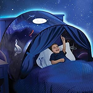 Beauté Top Enfants Pop Up Lit Playhouse Tent - Jumeaux (Winter Wonderland) (weltraumabenteuer)
