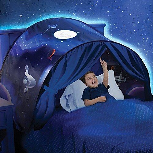 Beauté Top Enfants Pop Up Lit Playhouse Tent - Jumeaux (Winter Wonderland) (weltraumabenteuer)